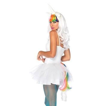 Sexy Rainbow Unicorn Fantasy Costume Accessory Kit - Standard - One Size