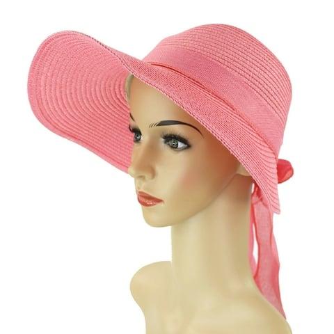 1fe84745382 Buy Pink, Sun Hat Women's Hats Online at Overstock   Our Best Hats Deals