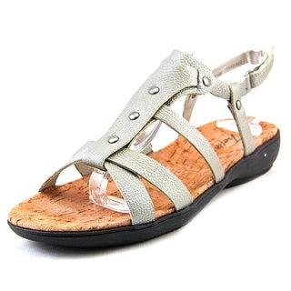 Trotters Galen Open-Toe Leather Slingback Sandal
