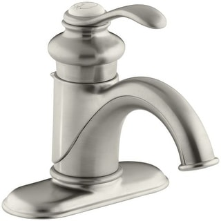 Kohler K-12181 Fairfax Single Hole Bathroom Faucet - Free Metal Pop-Up Drain Assembly with purchase