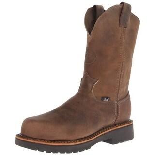 Justin Original Work Boots Mens Jmax Leather Composite Toe Work Boots