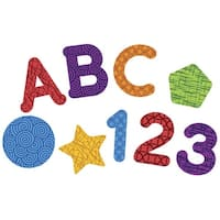 Learning Resources Magnetic Letters, Numbers & Shapes, Grades PreK and Above, Set of 55
