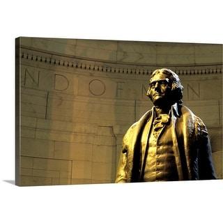 """Thomas Jefferson Memorial, Washington DC, USA"" Canvas Wall Art"