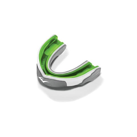 Everlast Evergel Single Mouthguard Green/Grey - 1400009