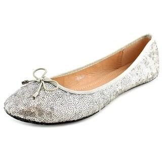 GC Shoes Phelomenia Women Round Toe Canvas Black Flats