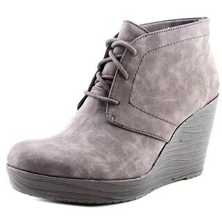 Dr. Scholl's Blaire Women  Open Toe Synthetic Brown Wedge Heel