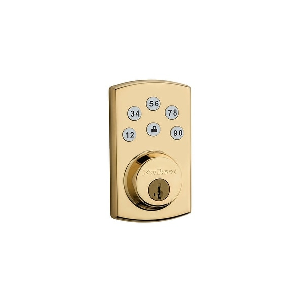 Kwikset 907-2 Powerbolt 2 Touchpad Electronic Deadbolt with SmartKey - N/A