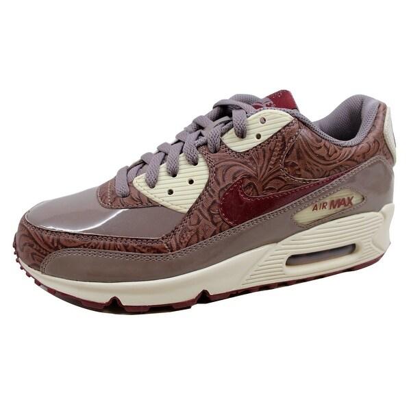 Nike Women's Air Max 90 Premium Orewood Brown/Red Earth-Brown 317246-261