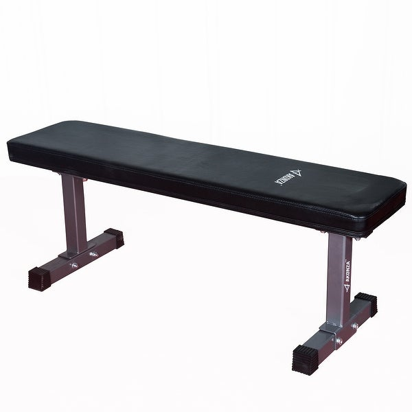 Shop Akonza Deluxe Flat Bench 1000 Lb Weight Capacity