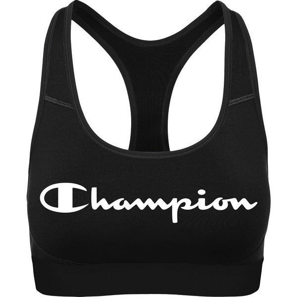 Champion Womens The Absolute Workout Sports Bra Medium Impact Fitness. Opens flyout.