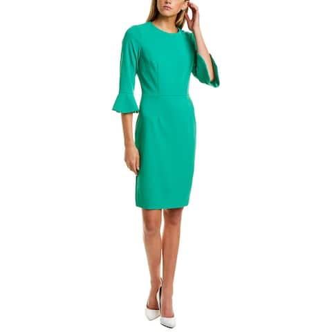 Donna Morgan 3/4-Sleeve Sheath Dress