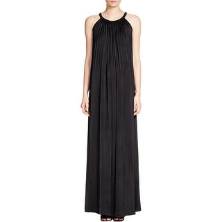 Vince Womens Maxi Dress Pleated Halter - 12
