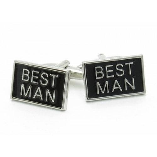 Best Man Wedding Groomsmen Cuffs