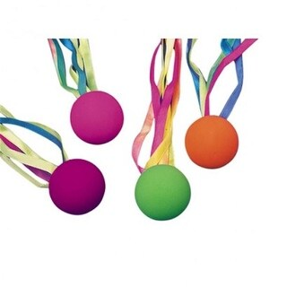 US Toy 19.6 x 16.4 in. Comet Balls with Streamer - 8 per Pack - Pac