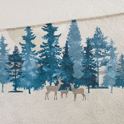 Donna Sharp's Watercolor Forest Throw UCC