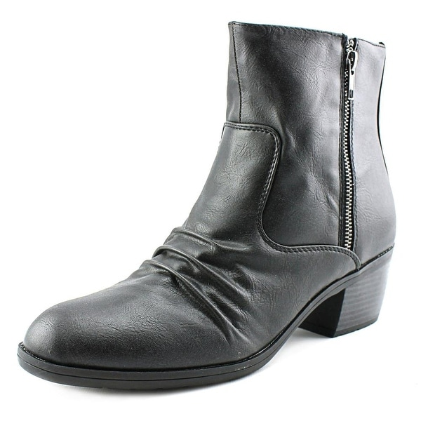 Life Stride Watchful Women W Pointed Toe Synthetic  Ankle Boot