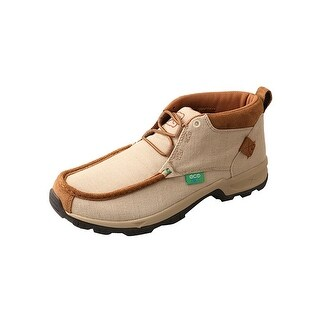 Twisted X Outdoor Shoes Mens Lace Up Hiker ECO TWX Rubber Tan