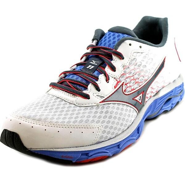 Mizuno Wave Inspire 11 Women White/Grey/Pink Running Shoes