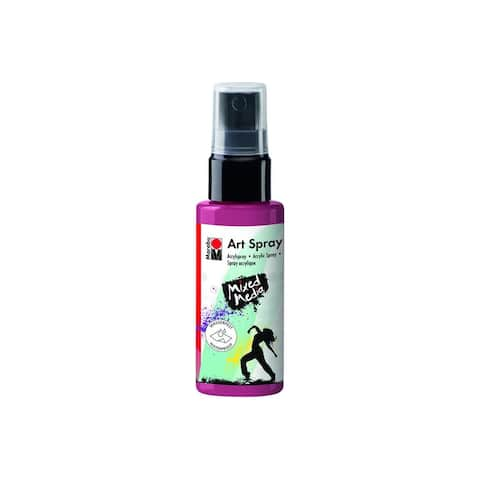12099005034 marabu mixed media art spray 1 7oz bordeaux