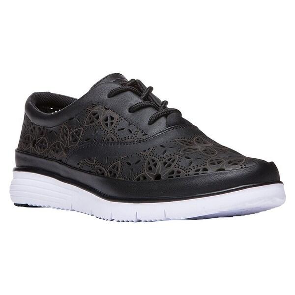 Propet Women's Harper Leather, EVA Fashion Sneakers - 9.5