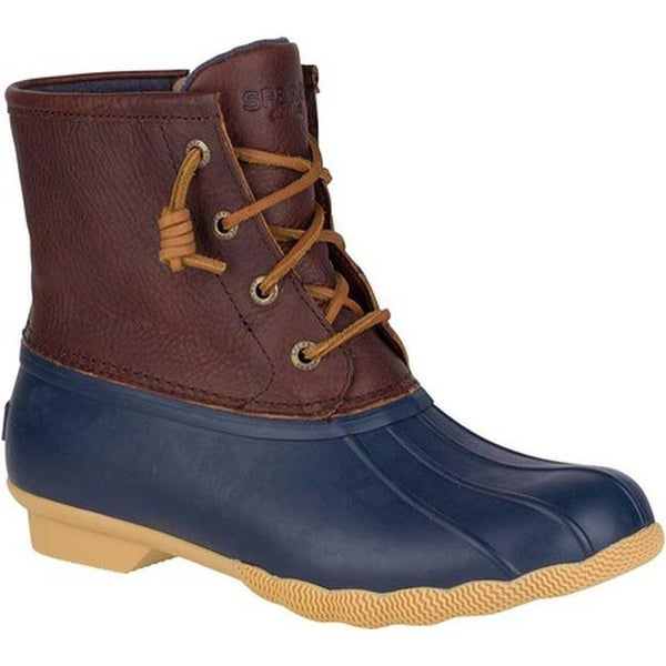 Sperry Top Sider Women X27 S R Thinsulate Duck Boot Tan Navy