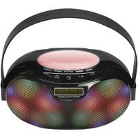 Supersonic(R) SC-1446BT - BLK Bluetooth(R) Portable Rechargeable Speaker (Black)