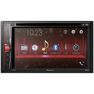 "Pioneer(R) AVH-210EX 6.2"" Double-DIN In-Dash DVD Receiver with Bluetooth(R)"