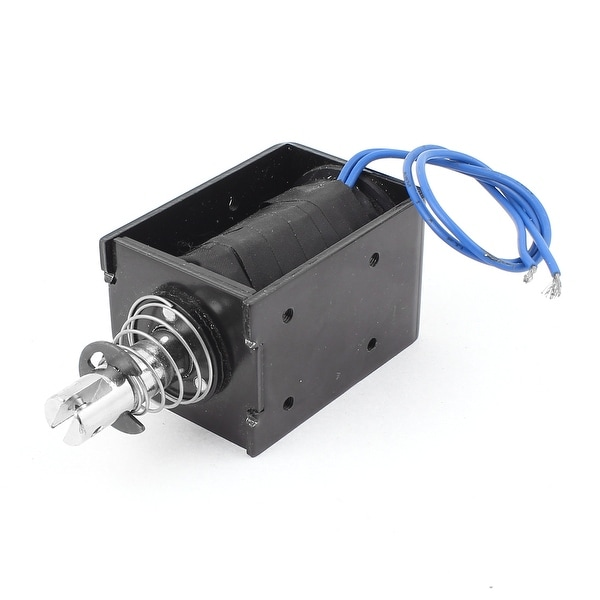 Shop Spring Loaded Push Pull Open Frame Solenoid