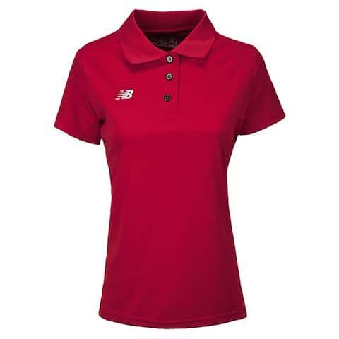 New Balance Women's Solid Short Sleeve Polo