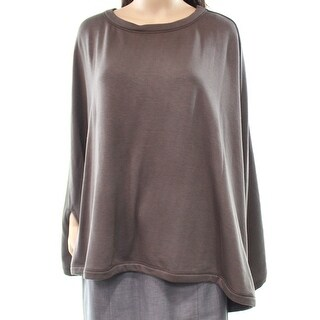 H by Bordeaux Womens Large Pullover Cape Sweater