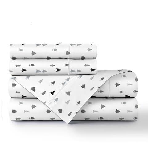 Ultra Plush 160 GSM Deep Pocket Combed Cotton Flannel Bed Sheet Set