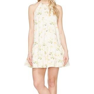 Rebecca Taylor NEW Pink Women's Size 8 A-Line Floral-Print Dress