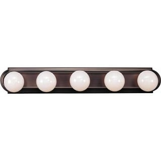 "Volume Lighting V1125 30"" Width 5 Light Bathroom Vanity Strip"