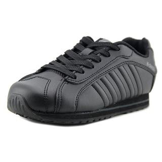 K-Swiss Verstad III S Round Toe Leather Sneakers