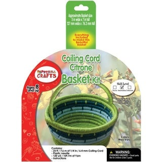 Coiling Cord Kit-Citrone Basket