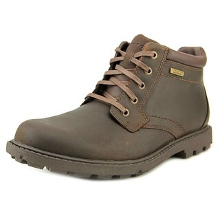 Rockport SS Plain Toe Boot Round Toe Leather Work Boot
