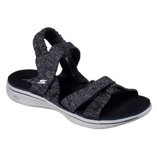 Skechers 14682 NVGY Women's H2 GOGA-BOUNTIFUL Sandal