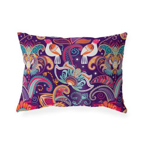 ORLA Indoor Outdoor Lumbar Pillow by Kavka Designs - 20X14