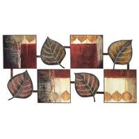 Aspire Home Accents 64210 Abstract Leaf Wall Decor