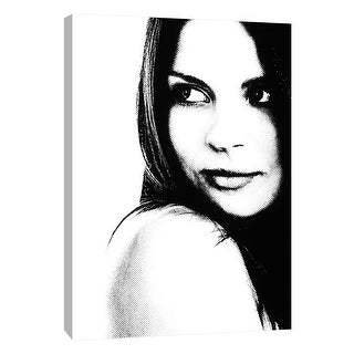 """PTM Images 9-105339  PTM Canvas Collection 10"""" x 8"""" - """"Girl 1"""" Giclee Women Art Print on Canvas"""