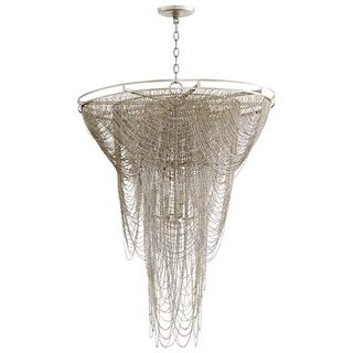 Cyan Design Ithica Twelve Light Pendant Ithica 12 Light Pendant with Silver Shad
