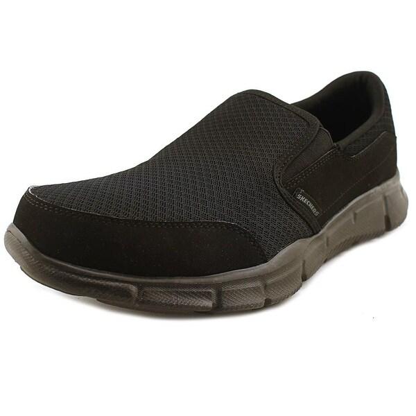 Skechers Equalizer-Persistent Men Round Toe Synthetic Black Walking Shoe