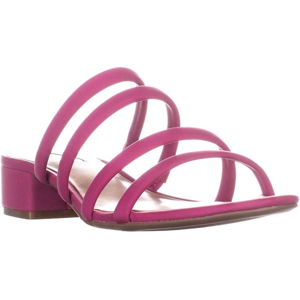 3a83b53aa09 Shop I35 Lamia Slip On Low Block Heel Strappy Sandals