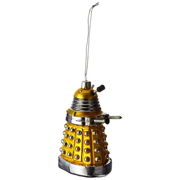 """Doctor Who Yellow Dalek 5"""" Ornament"""
