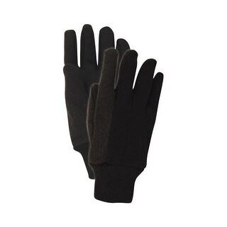 Handmaster T92PTXL Men's Extra Large Jersey Work Gloves, Brown