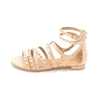 5209e99d5bc SALE. Zigi Soho Womens Pearlie Leather Open Toe Casual Strappy Sandals