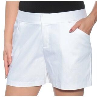INC Womens White Short  Size: 14