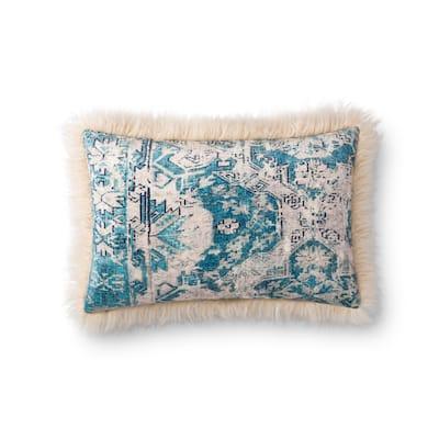 Alexander Home Elsa Floral Boho Lake House Throw Pillow