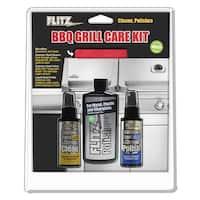 Flitz Bbq Grill Care Kit Metal Polish SS Cleaner SS Polish - BBQ 41504