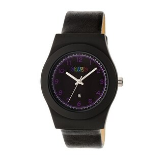 Crayo Dazzle Women's Quartz Watch, Genuine Leather Band